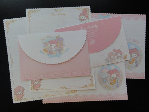 Sanrio My Melody Sun Star Letter Sets