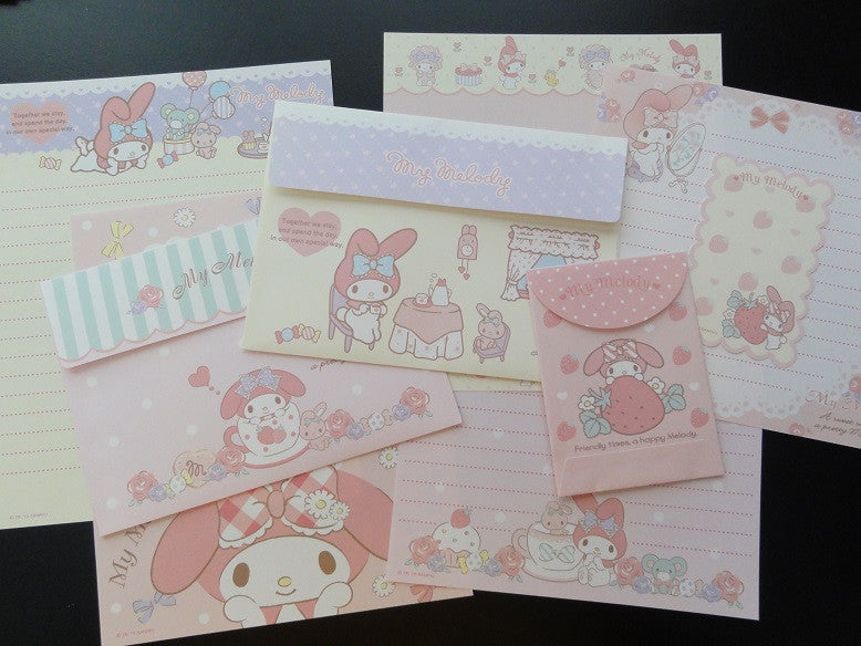 Sanrio My Melody Sweet Smiles Pretty Melody Letter Sets