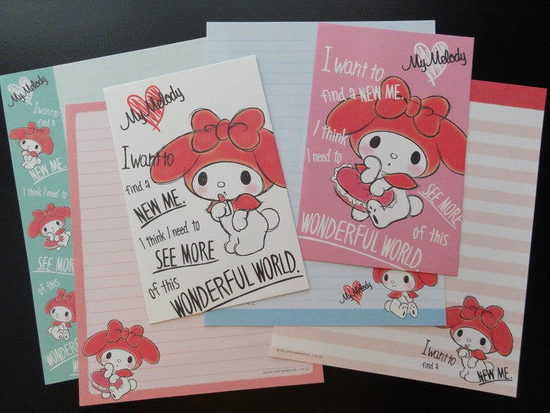 Sanrio My Melody Wonderful World Letter Sets