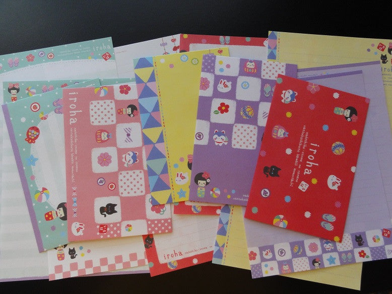Q-Lia Iroha Japan Doll Letter Sets