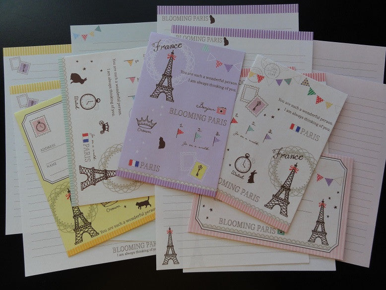 z Crux Blooming Paris Letter Sets