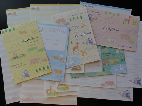 Crux Lovely Forest Animals Letter Sets