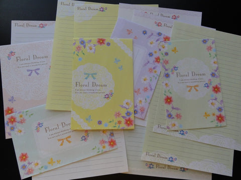 Crux Floral Dream Flower Letter Sets