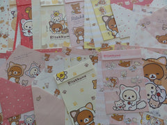 San-X Rilakkuma Cat Letter Paper + Envelope Theme Set
