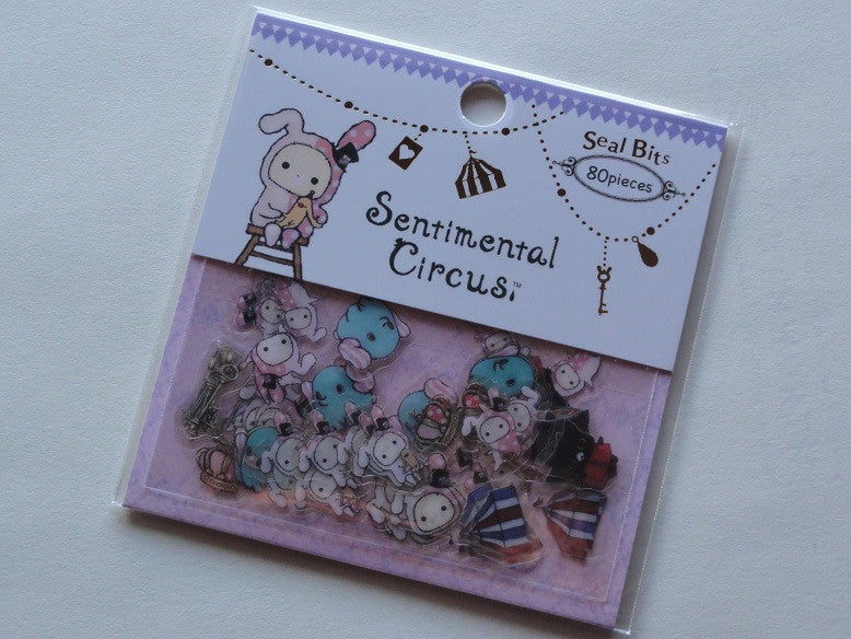 San-X Sentimental Circus Seal / Sticker Bits Sack