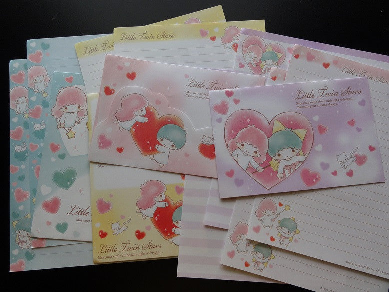 Sanrio Little Twin Stars Hearts Letter Sets