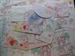 Sanrio Little Twin Stars Letter Paper + Envelope Theme Set B