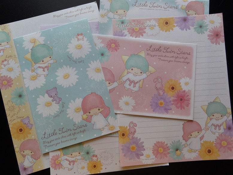 Sanrio Little Twin Stars Daisies Letter Sets