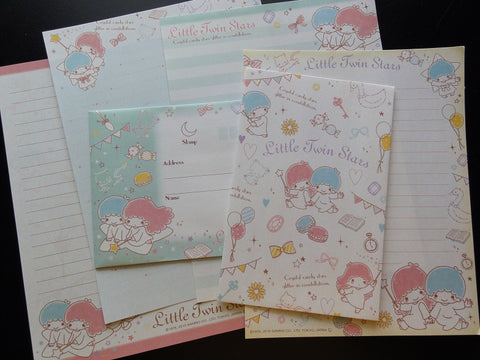Sanrio Little Twin Stars Crystal Candy Stars Letter Sets