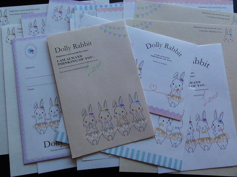Crux Dolly Rabbit Letter Sets