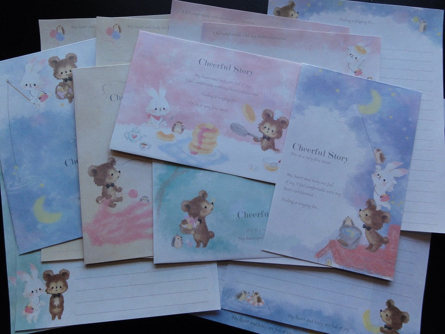 z Kamio Cheerful Story Letter Sets - A