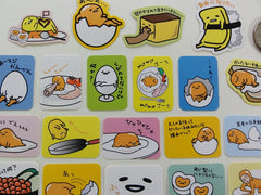 Sanrio Gudetama Egg Flake Sack Stickers - 25 pcs