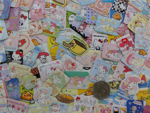 Grab Bag SANRIO Stickers: 50 pcs from Pack o Stickers