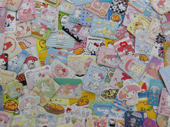 Grab Bag SANRIO Stickers: 40 pcs (My Melody, Purin, Little Twin Stars, Hello Kitty, others)