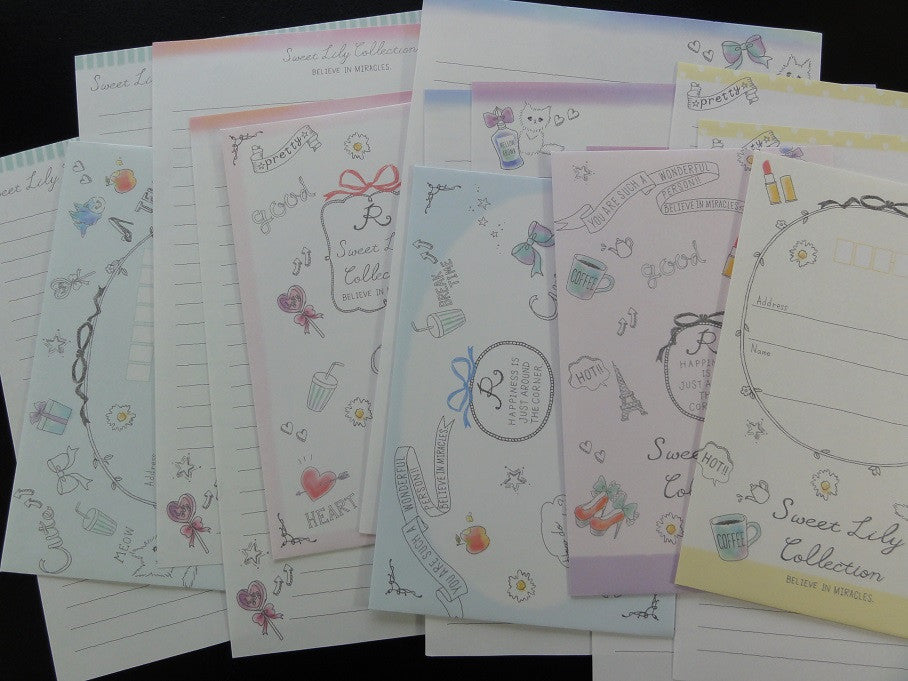 Crux Sweet Lily Collection Letter Sets