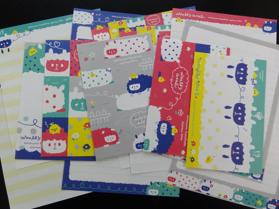Q-Lia Woolly Wool Lamb Sheep Letter Sets