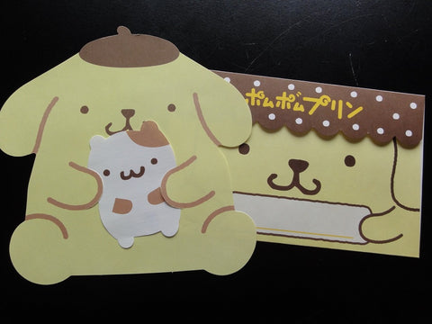 Kawaii Cute Pom Pom Purin Letter Set - B