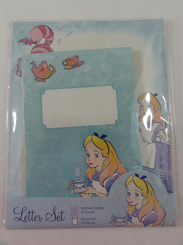 Cute Kawaii Alice Letter Set Pack - Writing Paper Envelope Stationery Penpal Princess