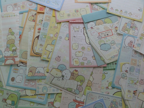 San-X Sumikko Gurashi Friends Books and Home Stationery Set