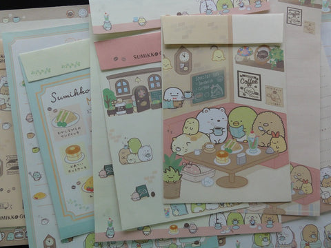San-X Sumikko Gurashi Coffee Shop Letter Sets - B