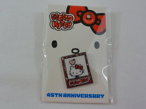 Cute Kawaii Hello Kitty Collectible Pin - 45th Anniversary - A