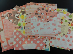 Kawaii Cute San-X Chocopa Panda Letter Writing Paper + Envelope Theme Stationery Set - A