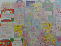 Cute Kawaii Hello Kitty My Melody Little Twin Stars All Characters Die Cut Paper Memo Note Set Sanrio
