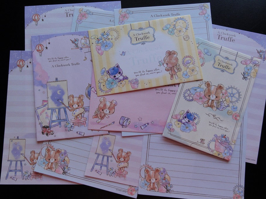 z Kamio Clockwork Truffe Bear Letter Sets
