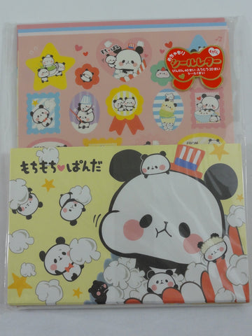 Cute Kawaii Kamio Popcorn Panda Letter Set Pack - Rare - Stationery Writing Paper Envelope Penpal