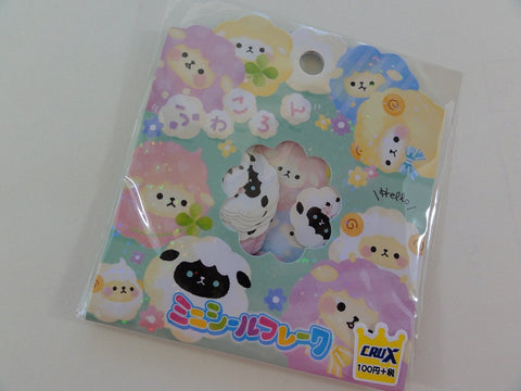 Cute Kawaii Crux Fuwakoron Sheep Stickers Sack