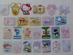 Kawaii Cute Keroppi Tuxedosam Kuririn Badtz Maru Flake Sack Stickers - 25 pcs 2015