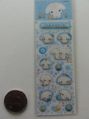 Kawaii Cute San-X Buru Buru Dog Small Sticker Sheet - Blue