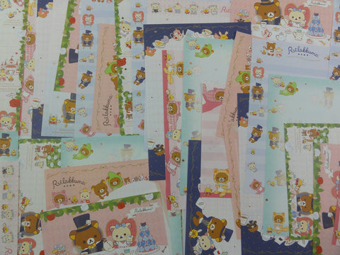 San-X Rilakkuma Bear Alice Memo Note Paper Set