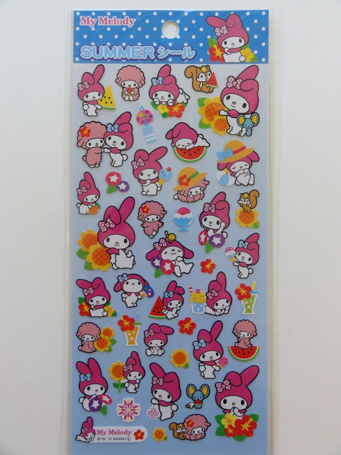 Sanrio My Melody Summer Sticker Sheet - 2015