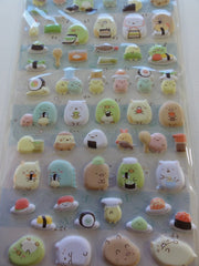 San-X Sumikko Gurashi Sushi Party Sticker Sheet - A