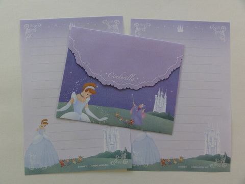 Cute Kawaii Kamio Cinderella Mini Letter Set