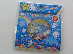Cute Kawaii Kamio Soap Water Bubble Stickers Sack - Vintage