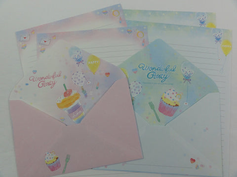 Crux Wonderful Party Letter Sets - Stationery Writing Paper Envelope