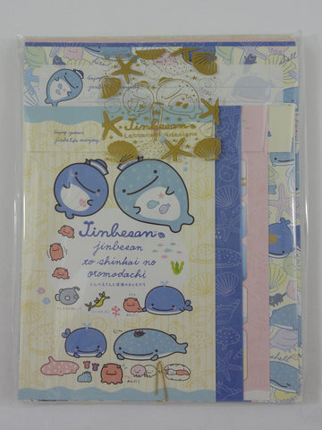 Cute Kawaii San-X Jinbesan Letter Set Pack - C