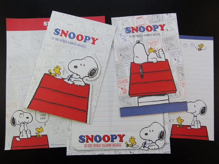 Peanuts Snoopy Letter Sets - D