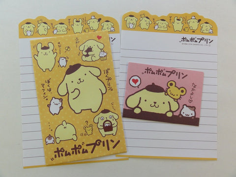 Cute Kawaii Pom Pom Purin Mini Letter Sets