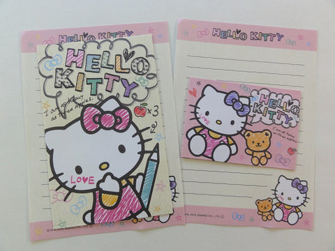 Cute Kawaii Hello Kitty Mini Letter Sets - A