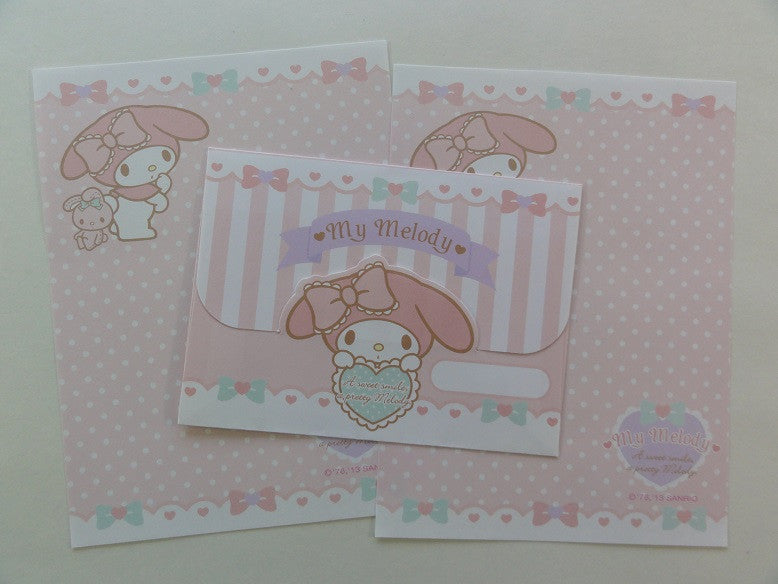 Cute Kawaii My Melody a Sweet Smile Mini Letter Set