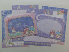 Cute Kawaii Little Twin Stars Mini Letter Sets - B