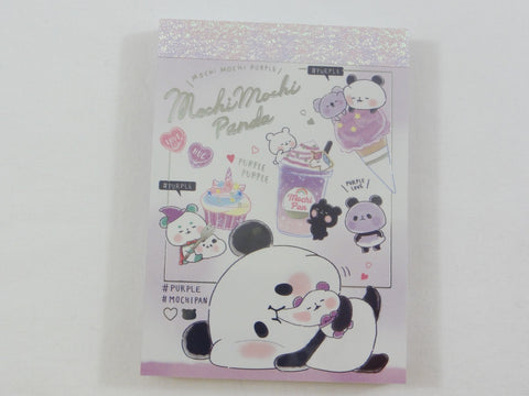 Kawaii Cute Kamio Mochi Panda Mini Notepad / Memo Pad - N - Stationery Designer Writing Paper Collection