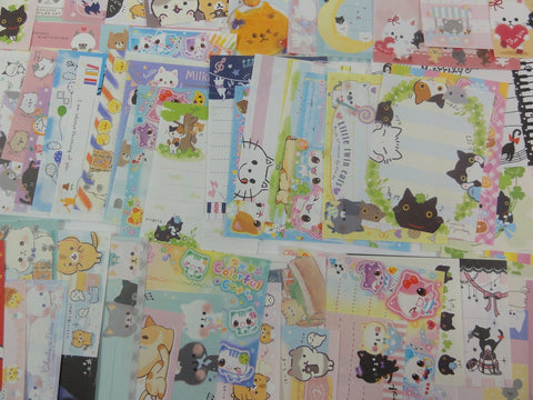 Cat Kitten Theme Mini Memo Note Paper Set - 100 pcs