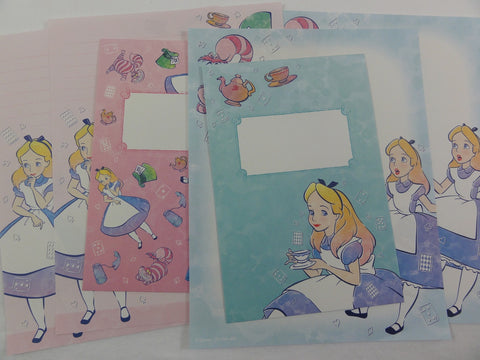 Cute Kawaii Alice in Wonderland Letter Sets - Writing Paper Stationery