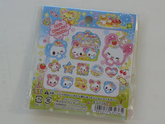 Cute Kawaii Pastry Bakery Rabbit Animal Friends Stickers Sack B - Vintage