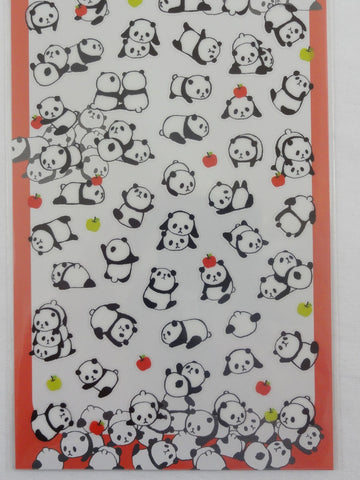 Cute Kawaii Mind Wave Baby Panda Sticker Sheet - for Journal Planner Craft