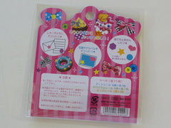 Cute Kawaii Mind Wave Lovely Cup Sweet Stickers Sack - Vintage
